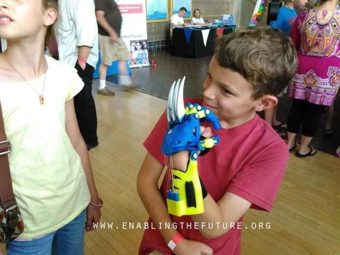 Impressão 3D e as crianças : Uma realção