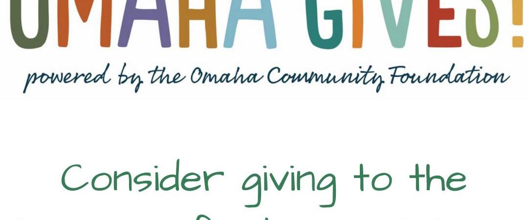 Give Today! Consider Giving to LWVGO During Omaha Gives