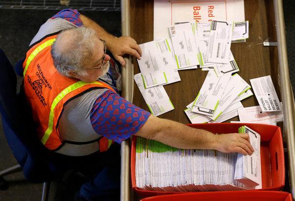 Klamath County Clerk's office voter information: processing  ballots