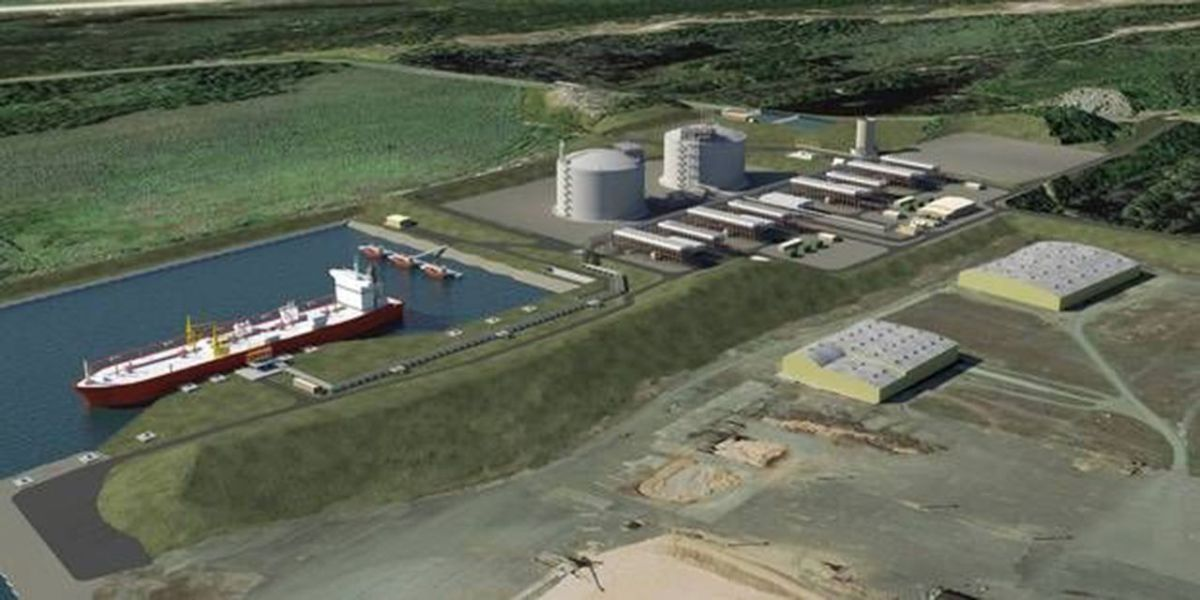 What's up with the LNG Pipeline?