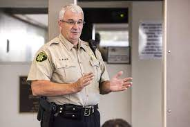 LWV Klamath County talks to Sheriff Kaber