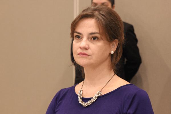 La directora de Posgrado de la Facultad de Derecho de la U. Finis Terrae, María Angélica Benavides.