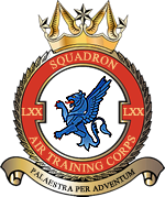 70 (Croft & Culcheth) Squadron ATC Logo
