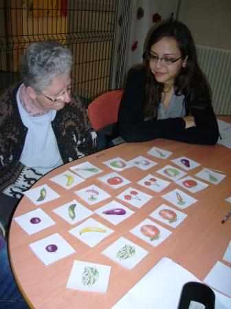 1ère ASSP – Atelier mémoire à la maison de retraite de Beaugency