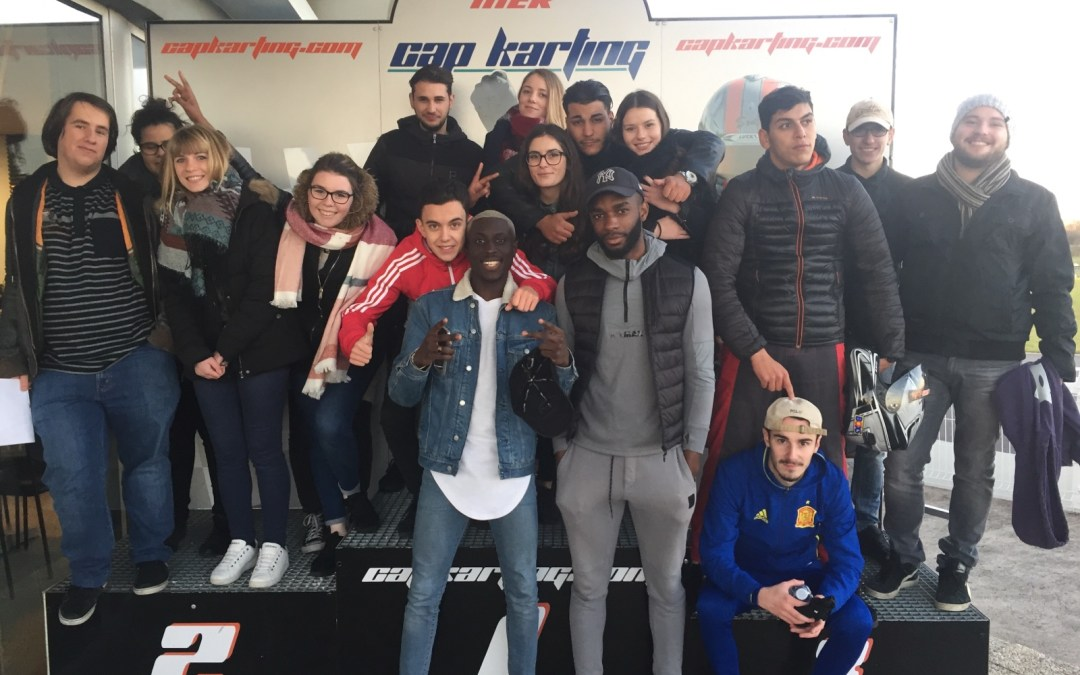 15-11-2017 : Cap sur le KARTING pour des élèves de BTS