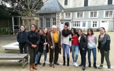 20-02-2018 : Rencontre avec Harry NUSSBAUM, enfant juif pendant la guerre