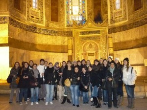 VOYAGE ETUDE ISTANBUL JANVIER 2011