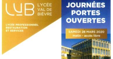 Les Journées Portes Ouvertes du Lycée Val de Bièvre (28 mars)