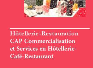 Read more about the article CAP Commercialisation et Services en Hôtellerie-Café-Restaurant