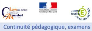 Read more about the article Continuité pédagogique, examens