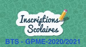 Read more about the article Constitution du dossier d'inscription BTS GPME – 2020/2021