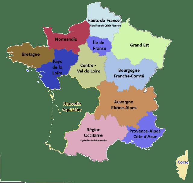 Fromages AOC-AOP de France et leurs régions de production