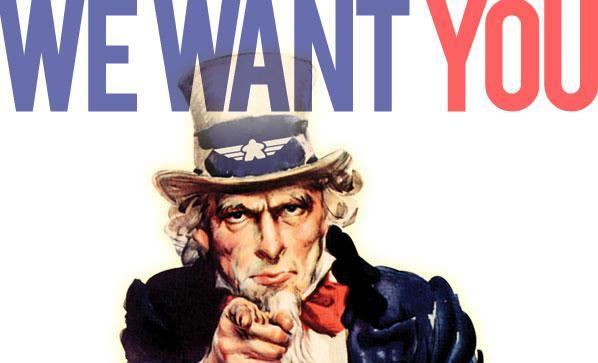 we want you propaganda