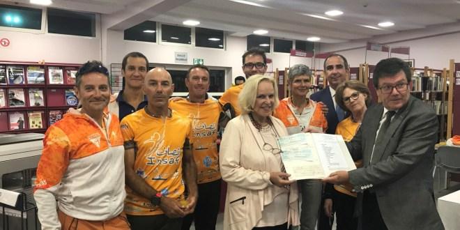 L'Equipe Marathon des Sables AEFE Casablanca/INSAF continue sa course pour le droit d'aller à l'école