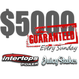 GTD is Back at Intertops Poker and Juicy Stakes