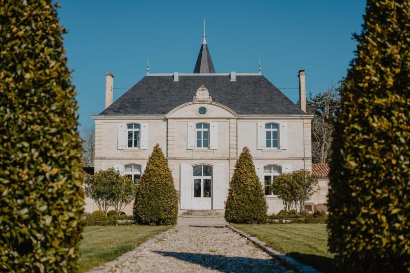 Façade château viticole