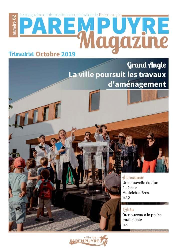 Ville de Parempuyre - Octobre 2019
