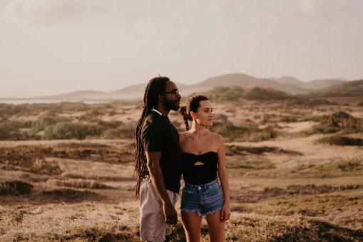 Séance couple en Martinique