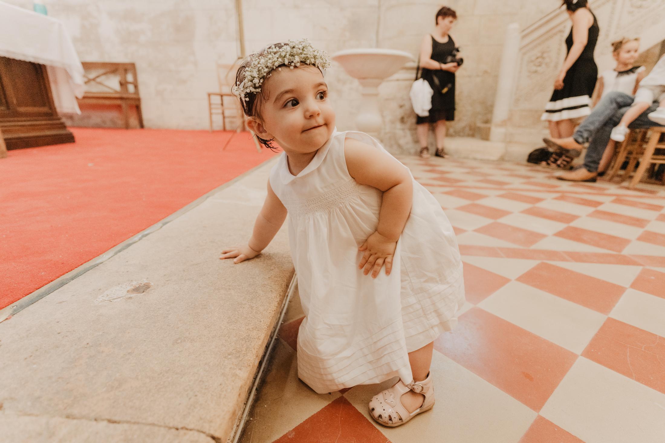 Photos l Baptême à l'Eglise de Cubzac