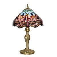 SALE on Searchlight Tiffany Style Dragonfly Table Lamp ...
