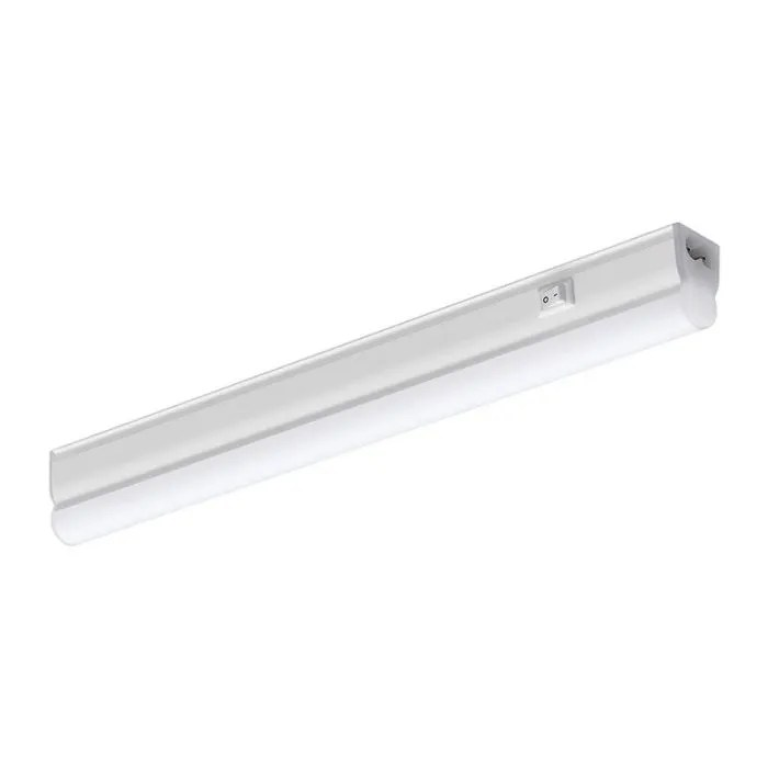 sylvania pipe 7w cool white led under cabinet light 600mm