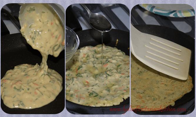 making besan puda