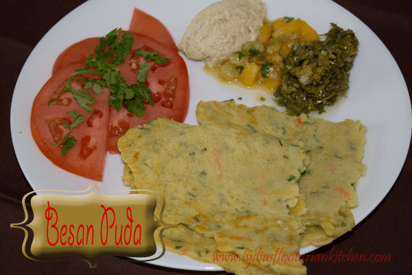 Besan Puda – Gluten Free, Egg Free, Dairy Free Deliciousness