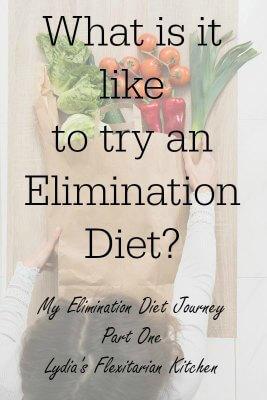 My Elimination Diet Journey Part One