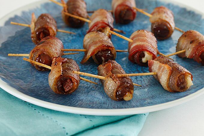 Tapas Tuesday: Bacon Wrapped Stuffed Dates