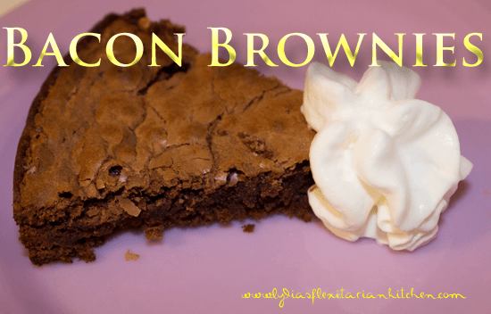 Bacon Brownies!