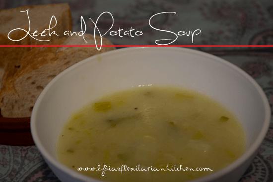 leek and potato soup title