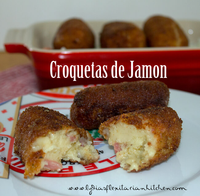 Croquetas de Jamon ~ Lydia's Flexitarian Kitchen