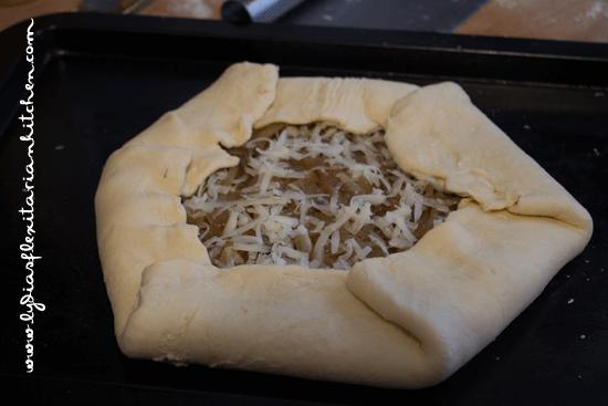 Rustic Onion Tart - Lydia's Flexitarian Kitchen