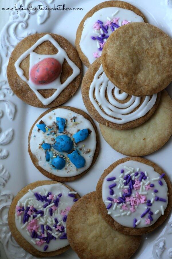 Mrs P's Shortbread Cookies - Lydia's Flexitarian Kitchen