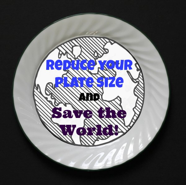 Reduce Your Plate Size and Save The World! ~ Lydia's Flexitarian Kitchen