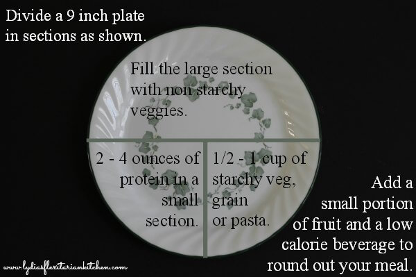Portion Size ~ Lydia's Flexitarian Kitchen