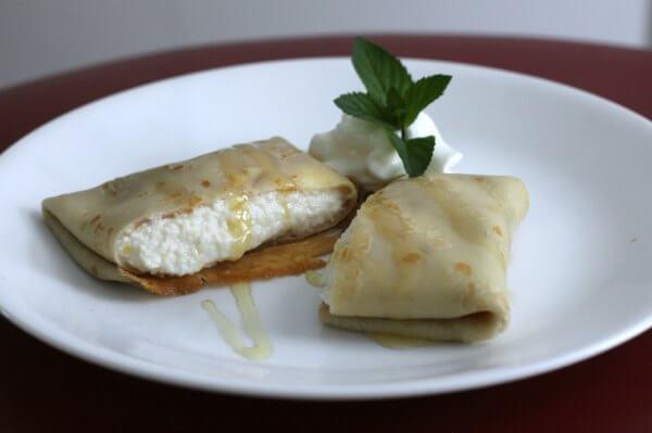 Lemony Crepes ~ Lydia's Flexitarian Kitchen