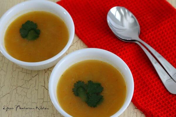 Meatless Monday: Creamy Vegan Vegetable Soup