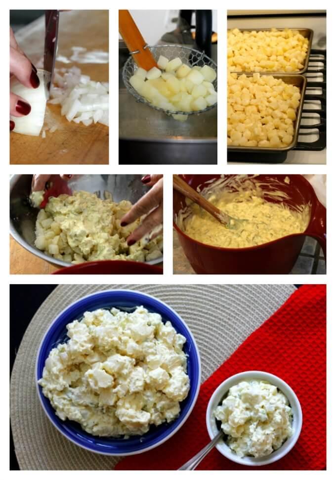 Potato Salad for A Crowd ~ Lydia's Flexitarian Kitchen