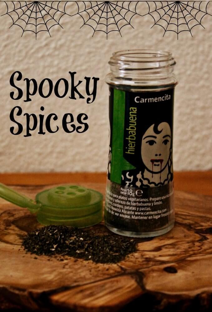 Spooky Spices ~ Hierbabuena ~ Lydia's Flexitarian Kitchen