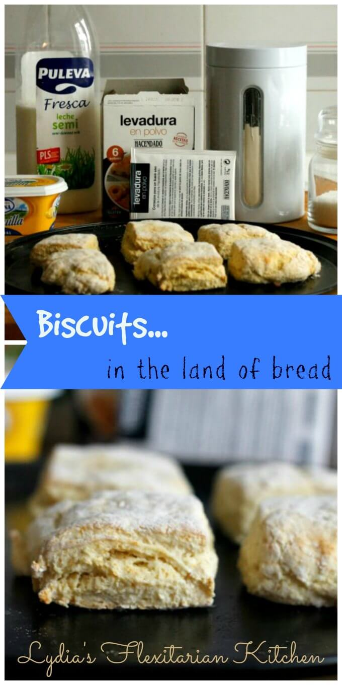 Baking Powder Biscuits for Two ~ Lydia's Flexitarian Kitchen