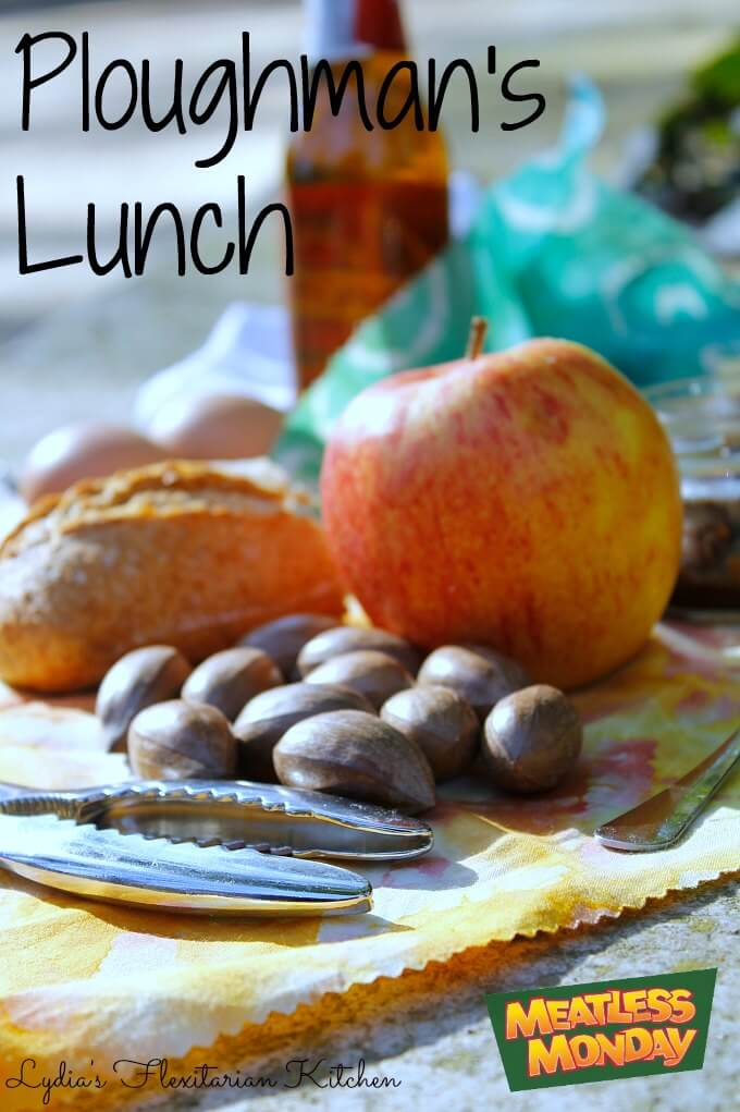 Ploughman's Lunch ~ Meatless Monday ~ Lydia's Flexitarian Kitchen