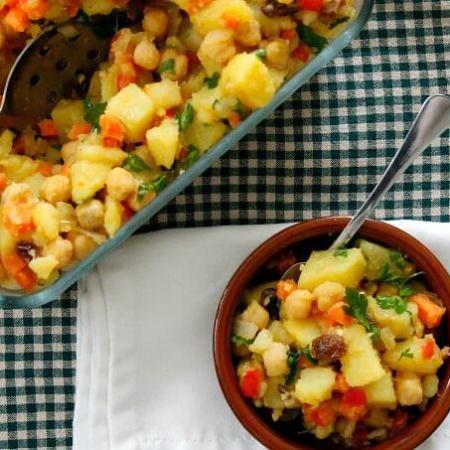 Meatless Monday: Moroccan Potato Salad