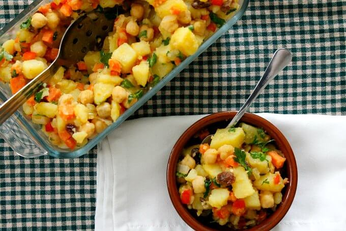 Meatless Monday: Moroccan Potato Salad
