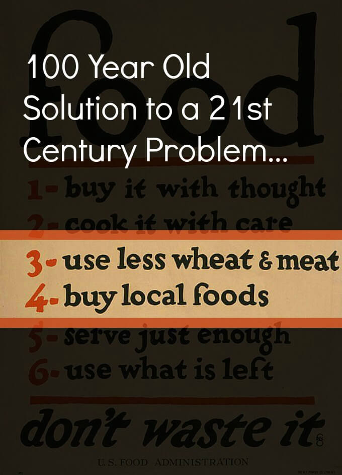 100 Year Old Solution to a 21st Century Problem ~ Lydia's Flexitarian Kitchen