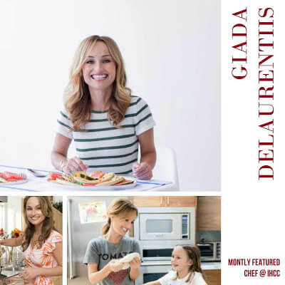 I Heart Cooking Clubs ~ Nov 2015 ~ Giada de Laurentiis ~ Lydia's Flexitarian Kitchen