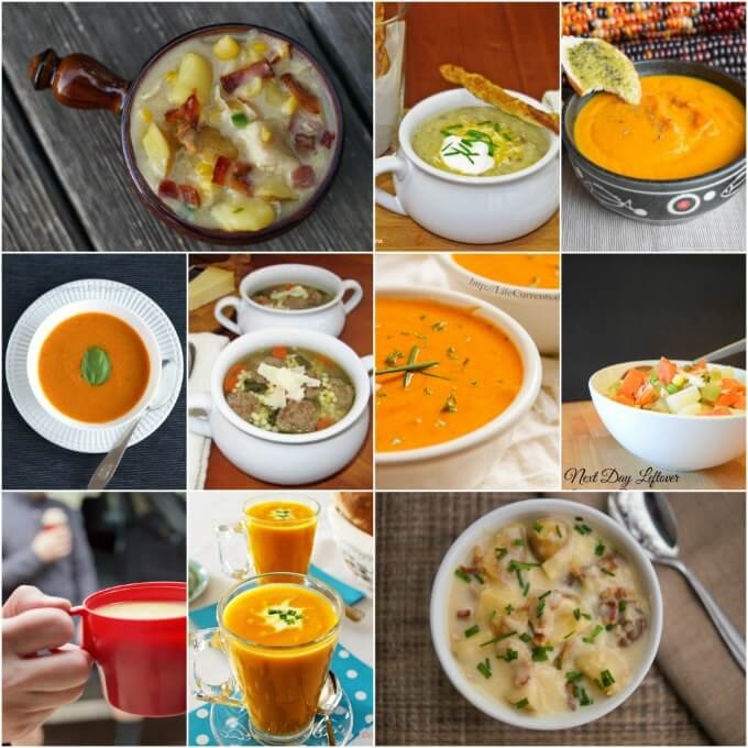 10 Soups, 10 Sandwiches, plenty of combinations ~ Lydia's Flexitarian Kitchen & Friends