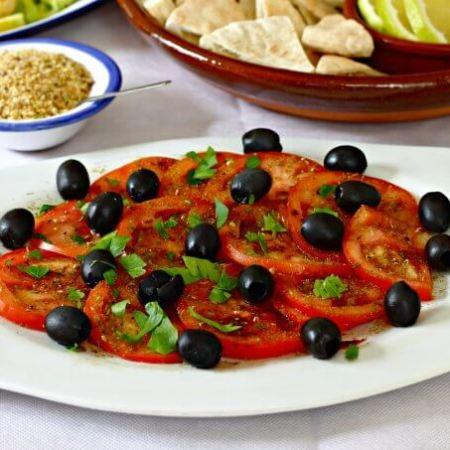 Tomatoes Jarra Marra {World Tapas Day}