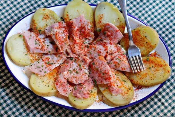 Lacon a la Gallega ~ Camino Flavors ~ Lydia's Flexitarian Kitchen