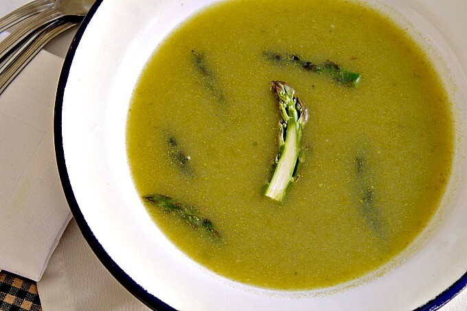 Spring Asparagus and Potato Soup